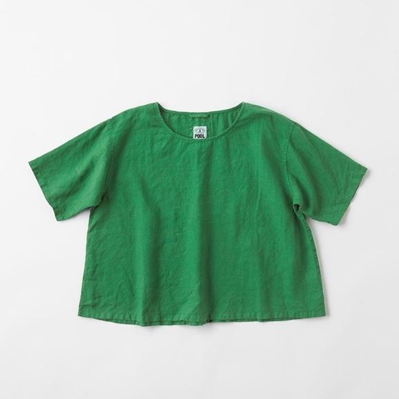 【写真】POOL いろいろの服 ブラウス グラスグリーン