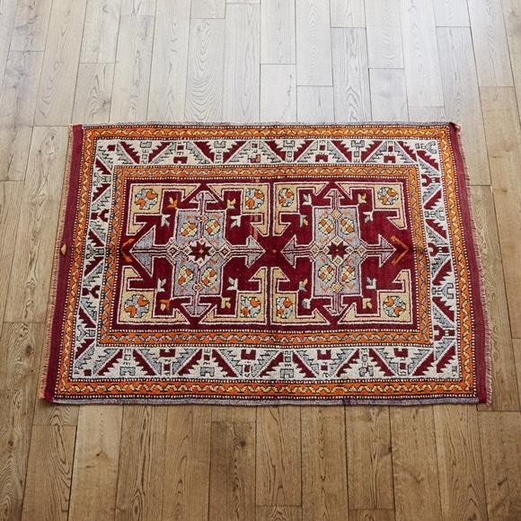 【写真】【一点物】トルコ絨毯 153×109 【583】