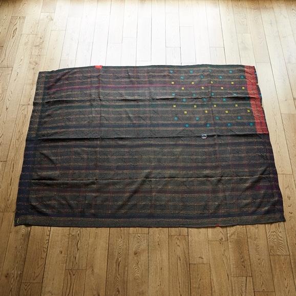 【写真】【一点物】インド ヴィンテージ ラリー キルト 213×158