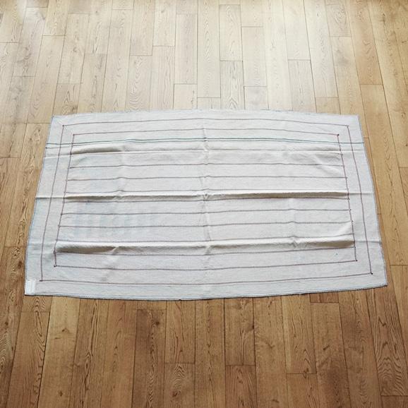 【写真】【一点物】ヴィンテージ ラリー キルト 112×197 【no3122】