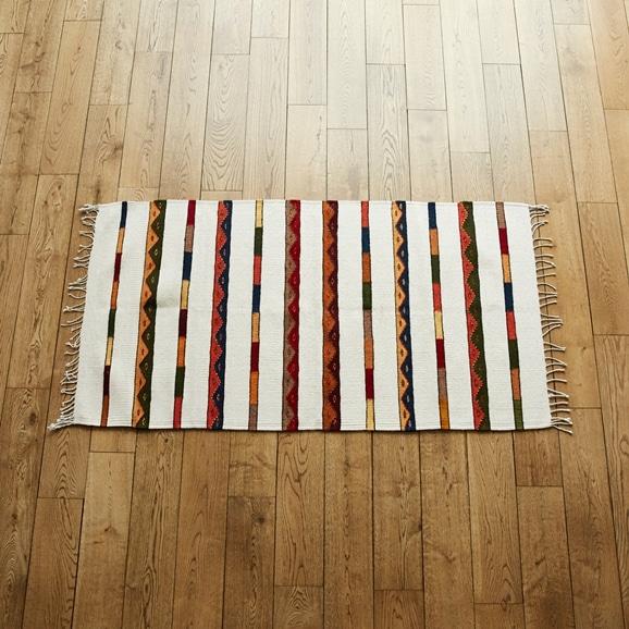 【写真】【一点物】サポテック ラグ (Isaac Vasquez Garcia) 82×155