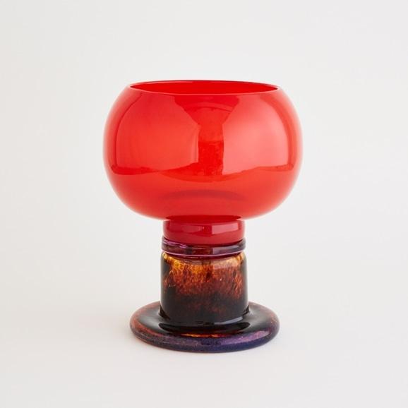 【写真】【一点物】kaj Franck Polaali Flower Vase Red/フィンランド買付品