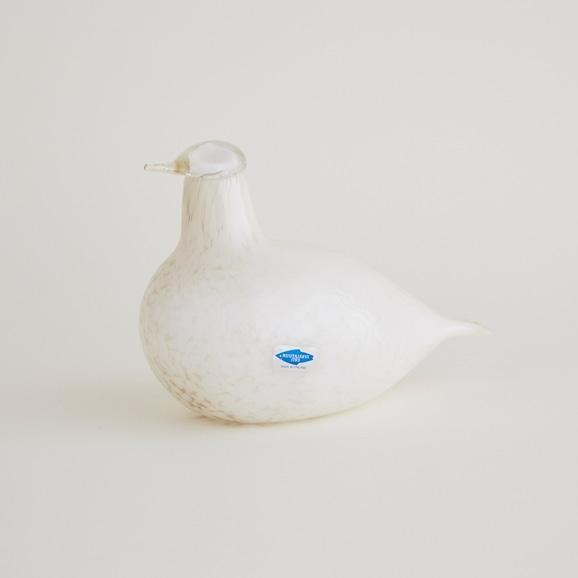【写真】【一点物】Oiva Toikka Bird Willow Grouse/フィンランド買付品