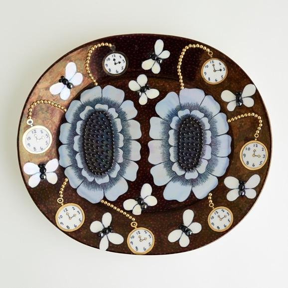 【写真】【一点物】Birger Kaipiainen DUETTO Arabia Display Plate/フィンランド買付品