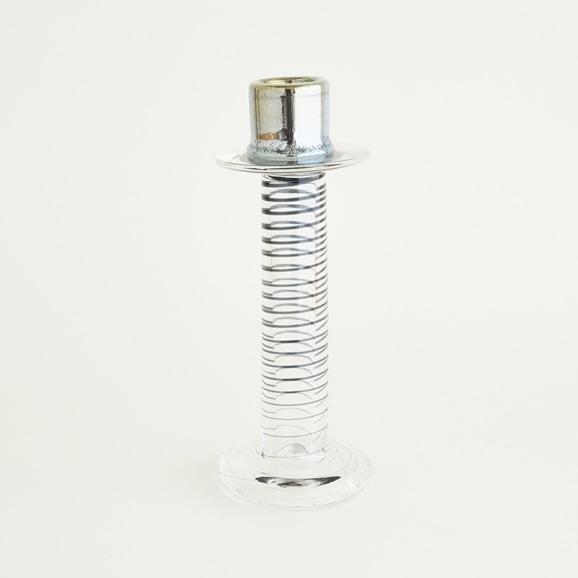 """【写真】【一点物】Oiva Toikka """"Primo"""" Candle Holder Clear/フィンランド買付品"""