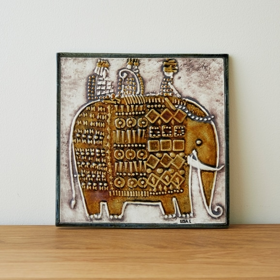 【写真】Vintage Lisa Larson Elephant