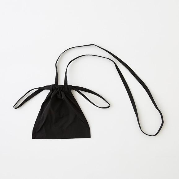 【写真】Drawstring Bag Strap ブラック XS