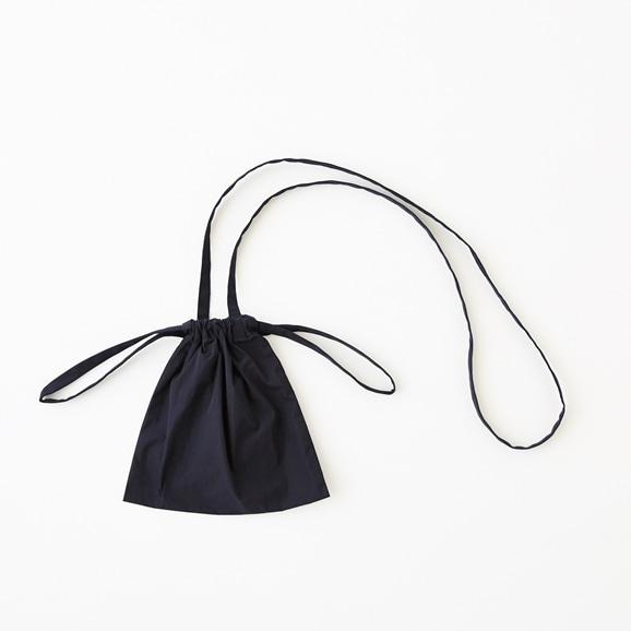 【写真】Drawstring Bag Strap ネイビー XS