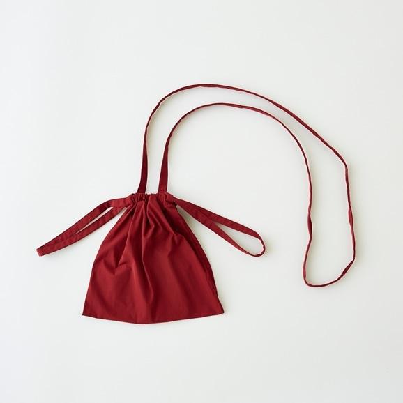 【写真】Drawstring Bag Strap レッド XS
