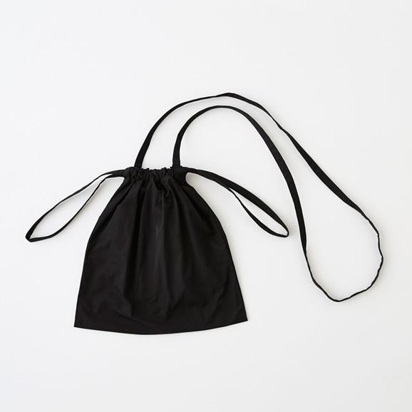 【写真】Drawstring Bag Strap ブラック SS