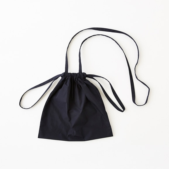 【写真】Drawstring Bag Strap ネイビー SS