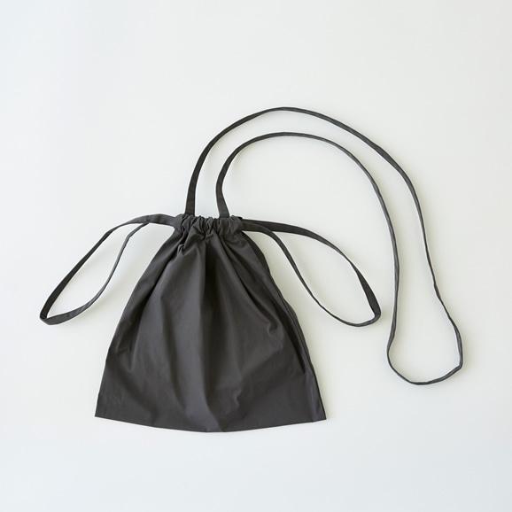 【写真】Drawstring Bag Strap グレー SS