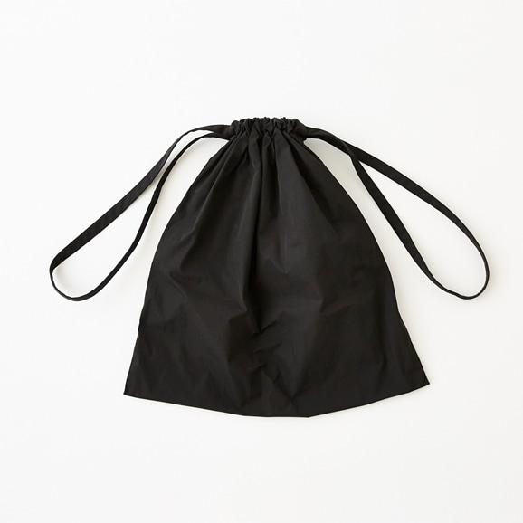 【写真】Drawstring Bag ブラック