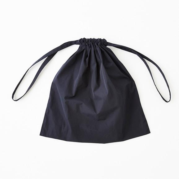 【写真】Drawstring Bag ネイビー