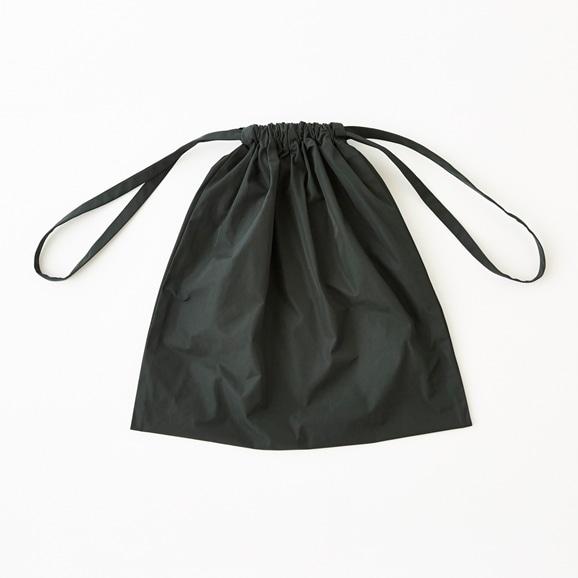 【写真】Drawstring Bag グリーン