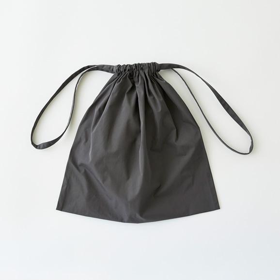 【写真】Drawstring Bag グレー