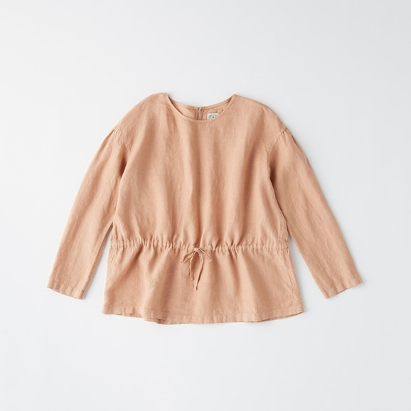 【写真】POOL いろいろの服 ギャザーブラウス シナモンピンク