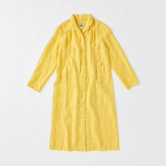 【写真】POOL いろいろの服 ワークコート  カナリーイエロー
