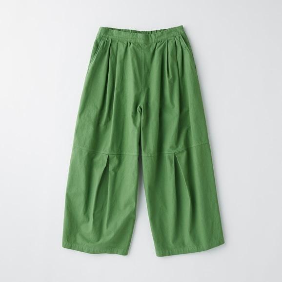 【写真】POOL いろいろの服 ニータックワイドパンツ ピーグリーン