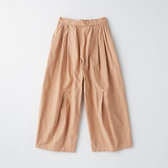 【写真】POOL いろいろの服 ニータックワイドパンツ シナモンピンク