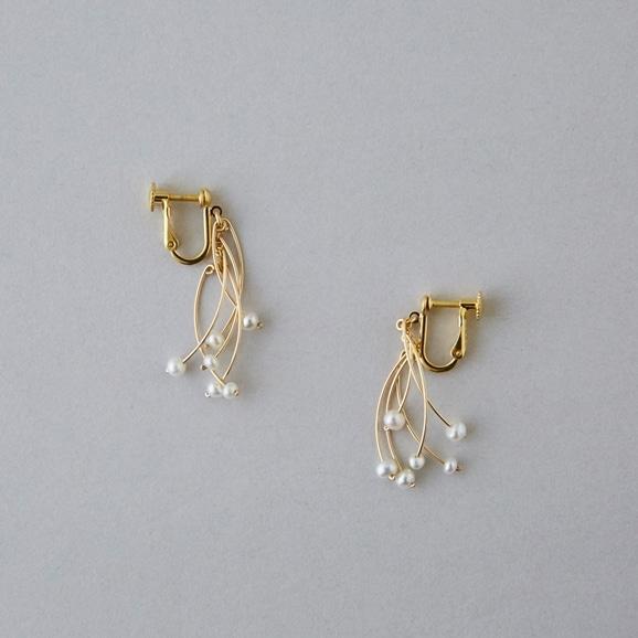 【写真】asumi bijoux popolace short earring