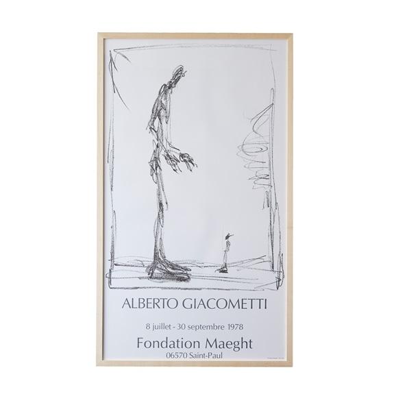 【写真】アルベルト・ジャコメッティ 「Fondation Maeght, Dessin I - 1978」