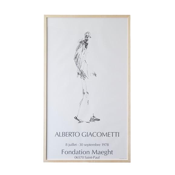 【写真】アルベルト・ジャコメッティ 「Fondation Maeght, Dessin II - 1978」