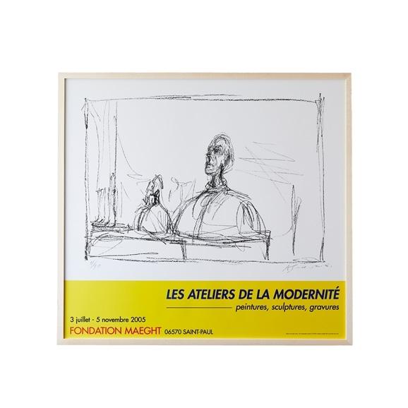 【写真】アルベルト・ジャコメッティ 「LES ATELIERS DE LA MODERNITE 2005」