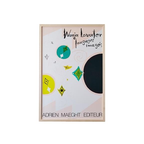 【写真】ウォーリャ・ラヴァター 「Galerie Maeght 1982」