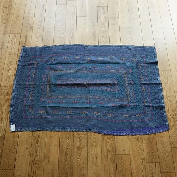 【写真】【一点物】ヴィンテージ ラリー キルト 179×121 【no3144】