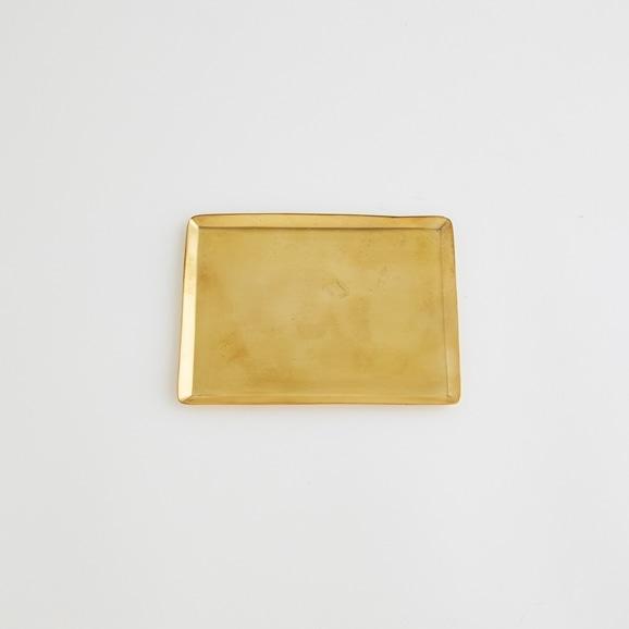 【写真】真鍮ソートトレー レクタングル S