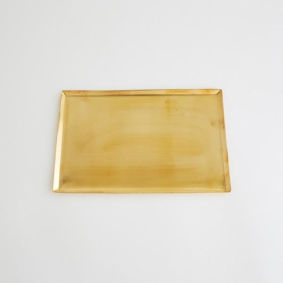 【写真】真鍮ソートトレー レクタングル M