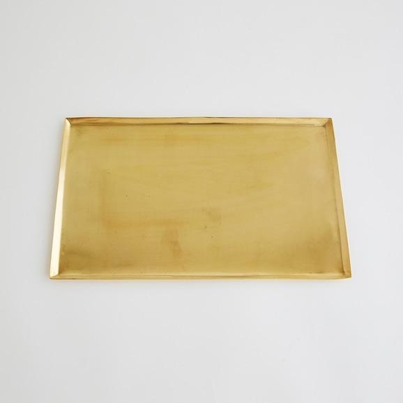 【写真】真鍮ソートトレー レクタングル L