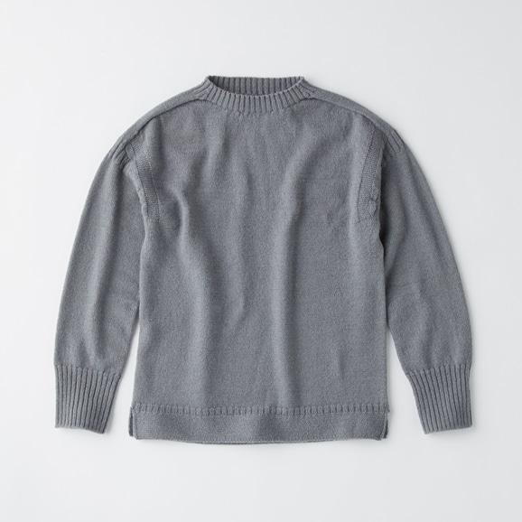 【写真】POOL いろいろの服 ノルマンディセーター グレー