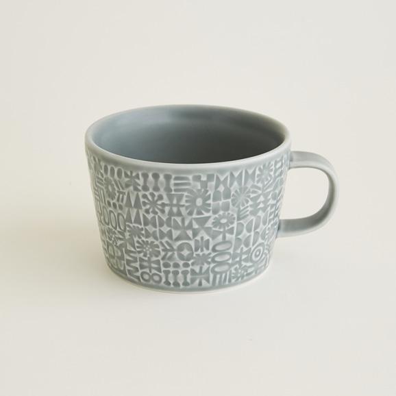 【写真】BIRDS' WORDS PATTERNED マグカップ