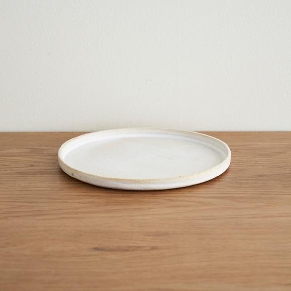 【写真】瀬川辰馬 チタン白パン皿
