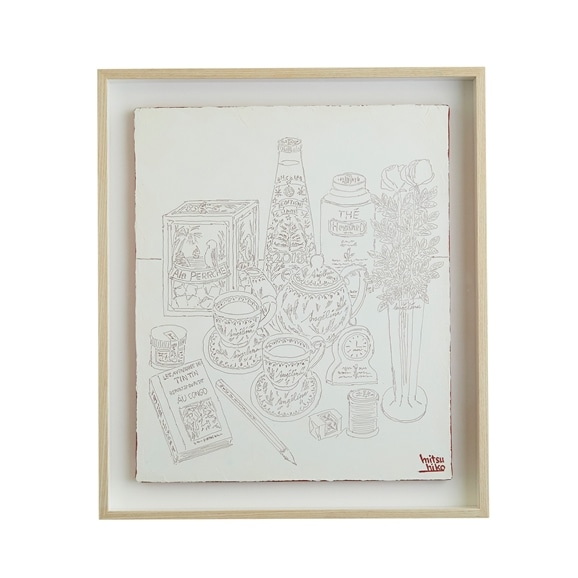 【写真】【一点物】笹尾光彦 「Drawing」White