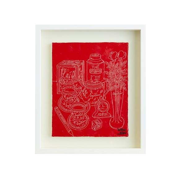 【写真】【一点物】笹尾光彦 「Drawing」Red A