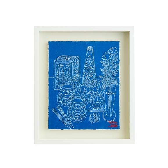 【写真】【一点物】笹尾光彦 「Drawing」Blue A