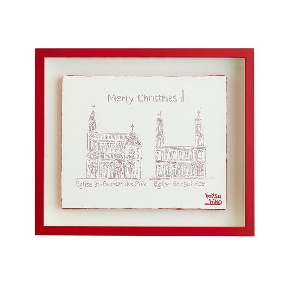 【写真】【一点物】笹尾光彦 「Drawing Church in Paris」