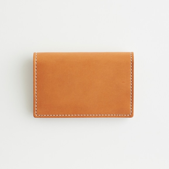 【写真】Hender Scheme folded card case ナチュラル