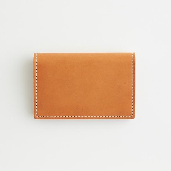 【写真】Hender Scheme folded card case ナチュラル