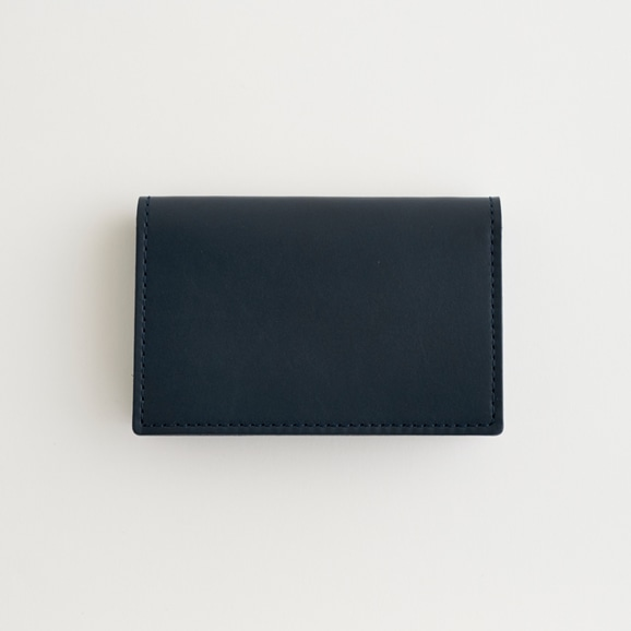 【写真】Hender Scheme folded card case ネイビー