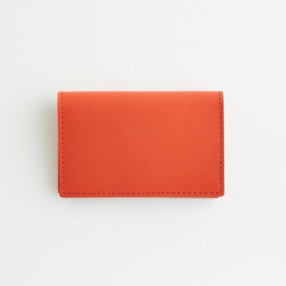 【写真】Hender Scheme folded card case オレンジ