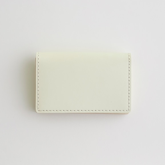 【写真】Hender Scheme folded card case ホワイト