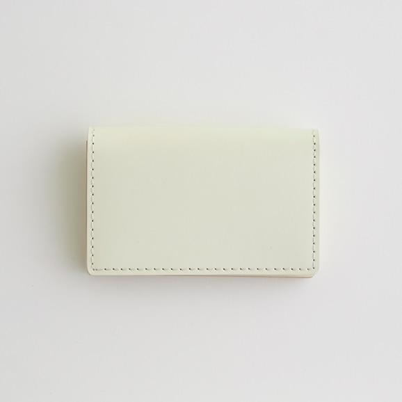 【写真】Hender Scheme folded card case ホワイト