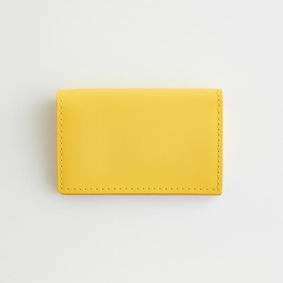 【写真】Hender Scheme folded card case イエロー