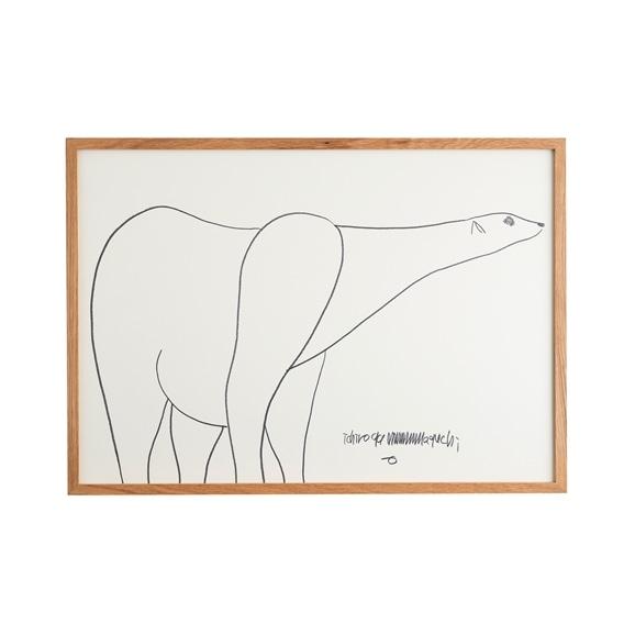 【写真】【一点物】山口一郎 「シロクマ NO.1120」
