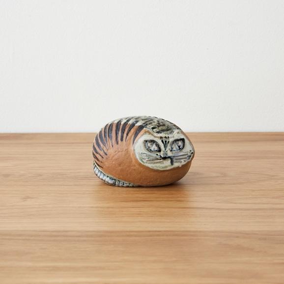 【写真】Vintage Lisa Larson Lilla Zoo round Katt