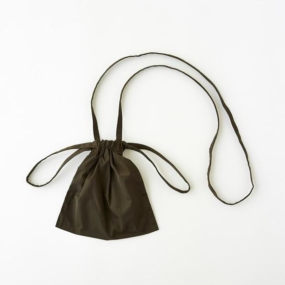 【写真】Drawstring Bag Strap カーキ XS